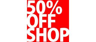 50%OFF SHOP